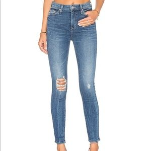 New Lovers + Friends Mason High Rise Skinny Jeans